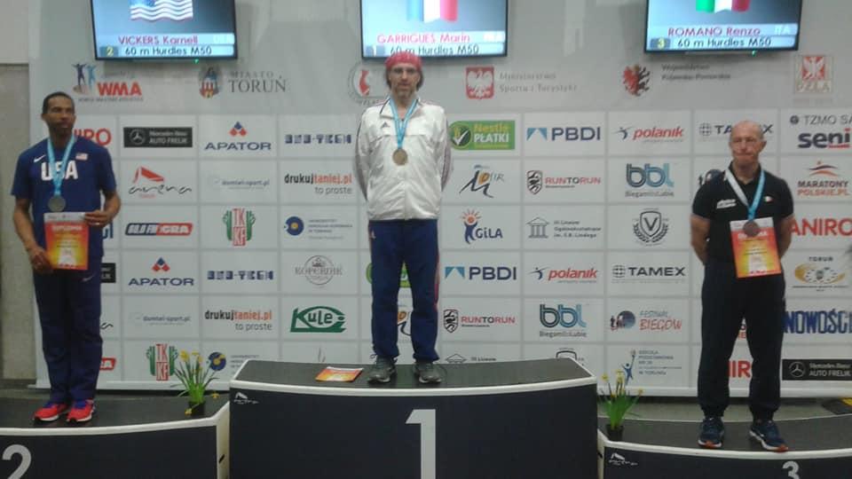 Marin Champion du monde  aux 60m haies !!!