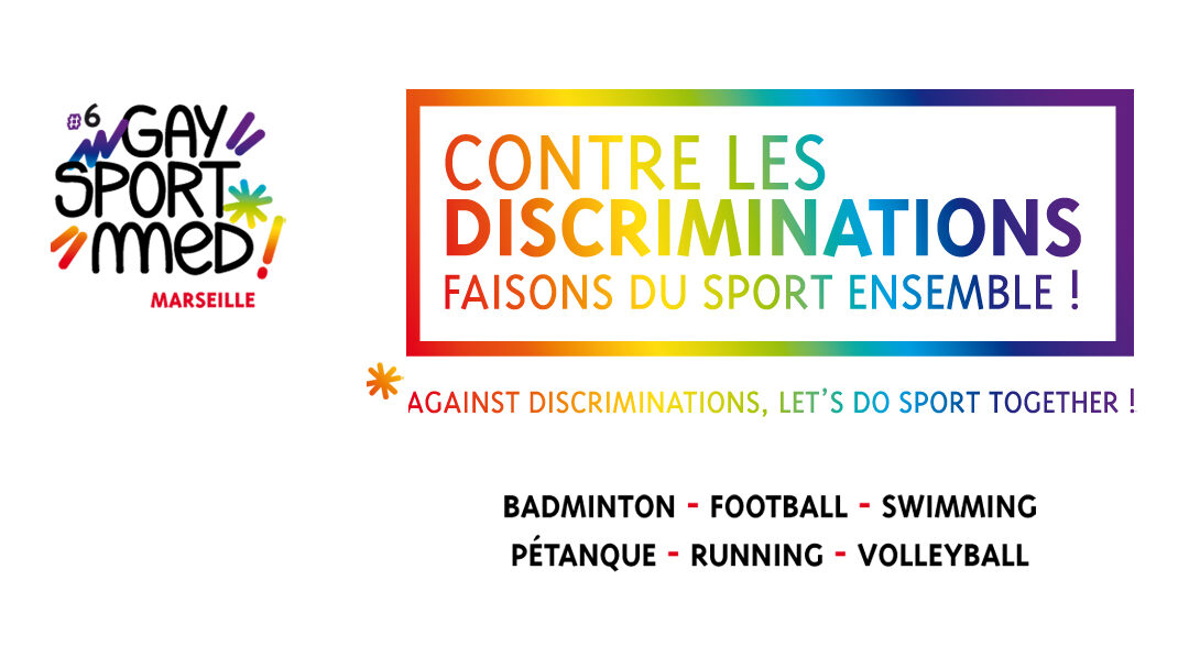 MUST et le FRM Organisent… GAYSPORTMED 6 !!!