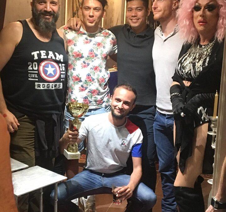 Heddy d'or et Larbi d'argent au tournoi de volley LGBT de Nice !