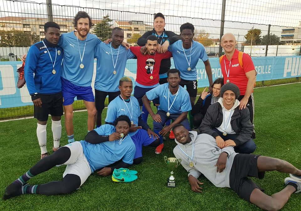 MUST FOOT 3eme au Tournoi de l'OM contre les discriminations !!!